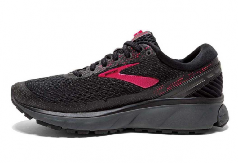 Brooks Ghost 11 GTX Black/Pink/Ebony Womens