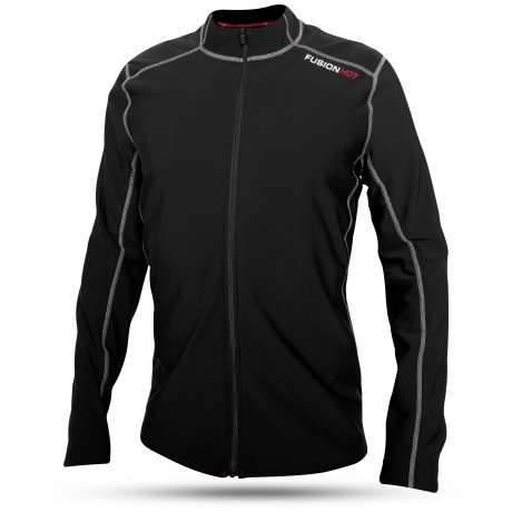 Fusion Hot Zip Running Shirt Hr
