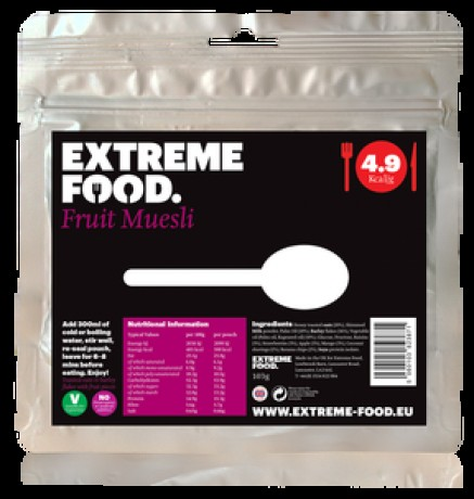 Extreme Food Fruit Muesli (breakfast)