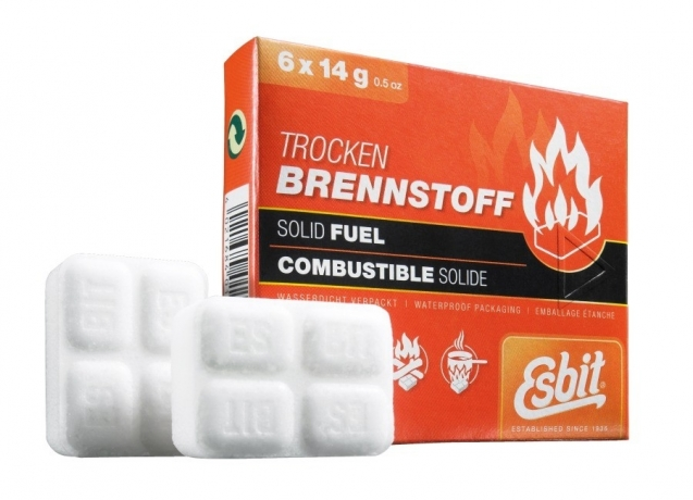 Esbit 12 x 14g solid fuel tablets