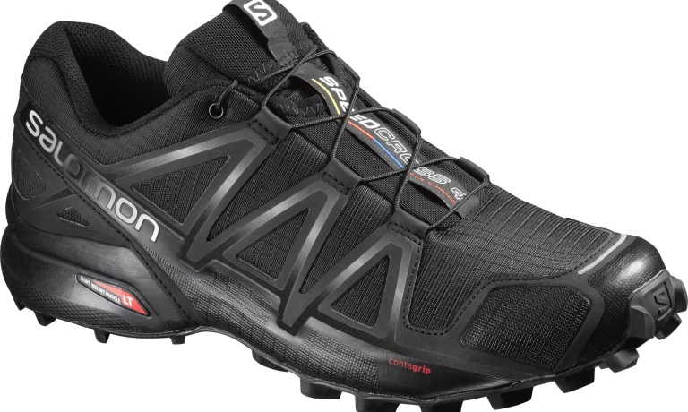 Salomon Speedcross 4 Black/Black/Black M...