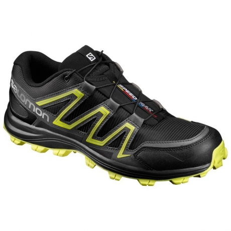 Salomon Speedtrak Black/Magnet/Sulphur S...