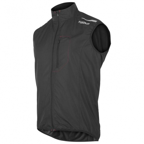 Fusion S1 Run Vest Herre Sort