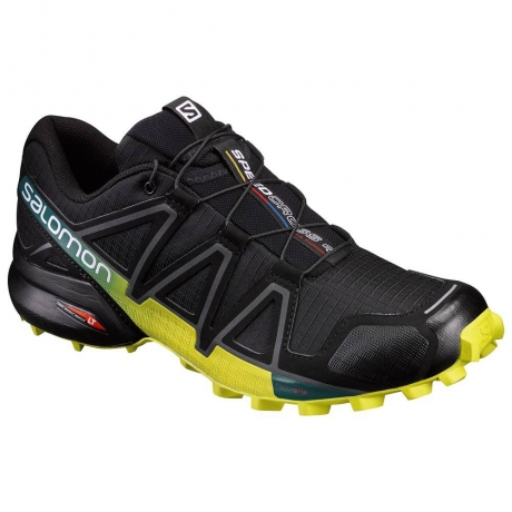 Salomon Speedcross 4 Herre - Sort/Gul