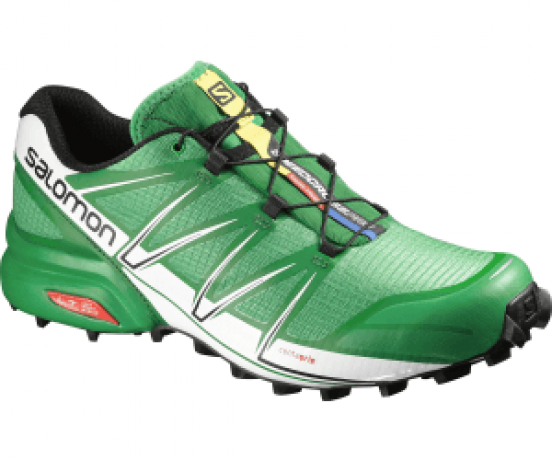 Speedcross Pro Men Green/Black/White