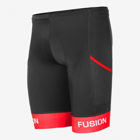 Fusion Tri PWR Band Pocket Tight Black/R...