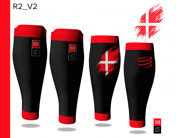 Compressport R2V2 Denmark Limited Editio...