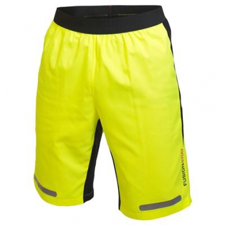 Fusion S100 Running Spray Shorts Orange