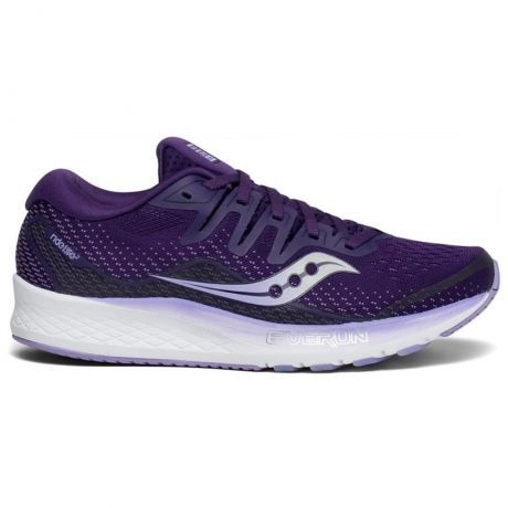 Saucony Ride ISO 2 Dame Purple Violet