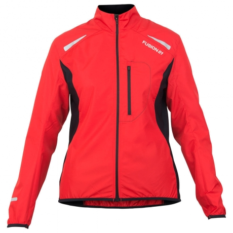 Fusion S1 Dame JKT Red