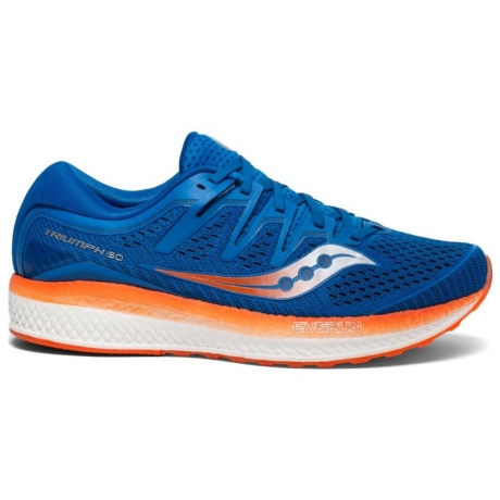 Saucony Triumph ISO 5 Herre Blue/Orange