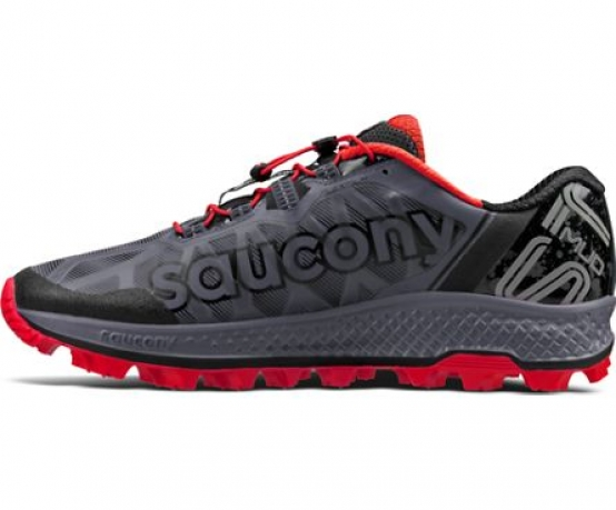 Saucony koa ST herre grey/red