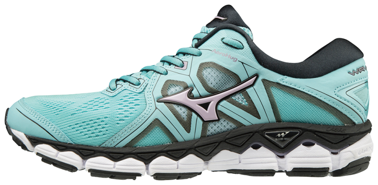 Mizuno Wave Sky 2 Dame Angel Blue/Lavend...