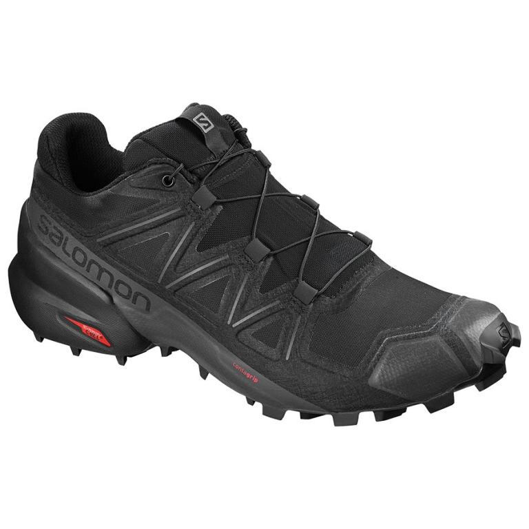 Salomon Speedcross 5 Herre Black/Black/Phantom