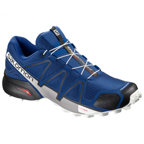 Salomon Speedcross 4 Herre - Blå/Hvid/So...