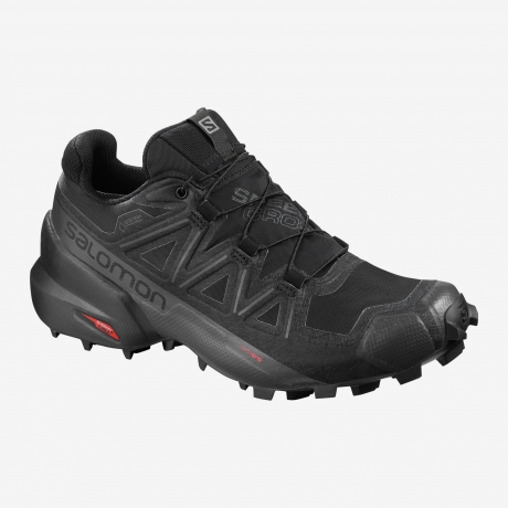 Salomon Speedcross 5 Dame GTX Black/Blac...