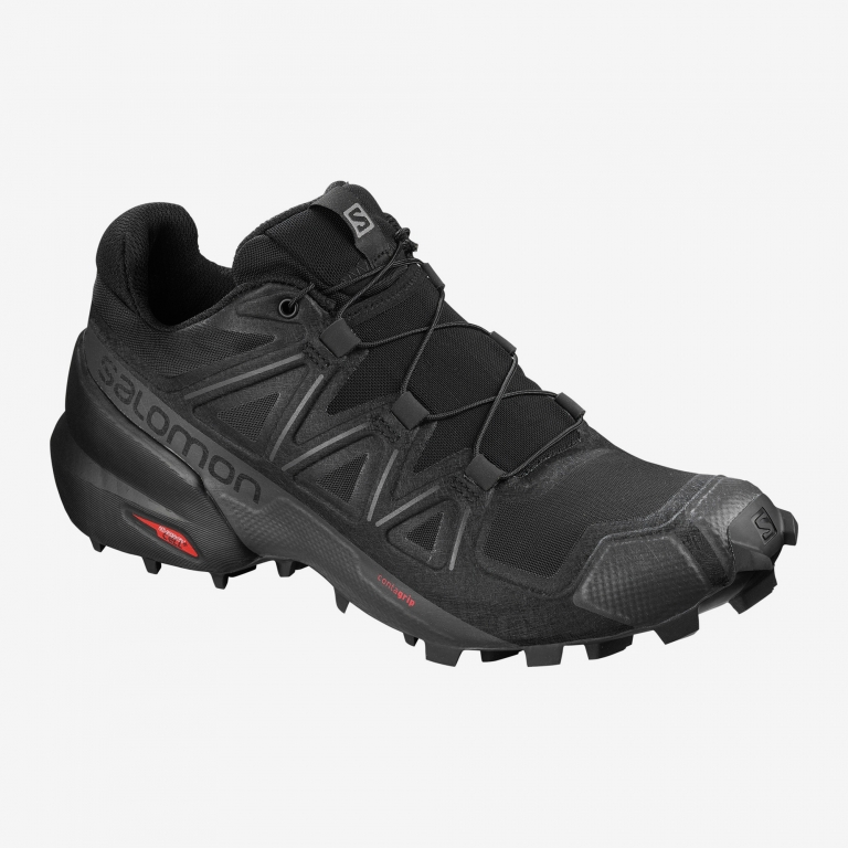 Salomon Speedcross 5 Dame Black/Black/Phantom