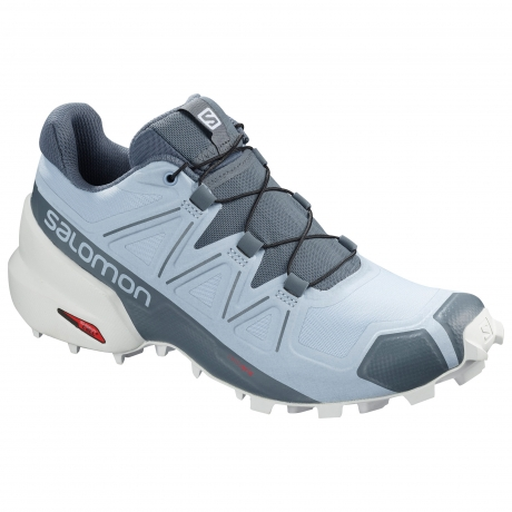 Salomon Speedcross 5 Dame Cashmere Blue/...