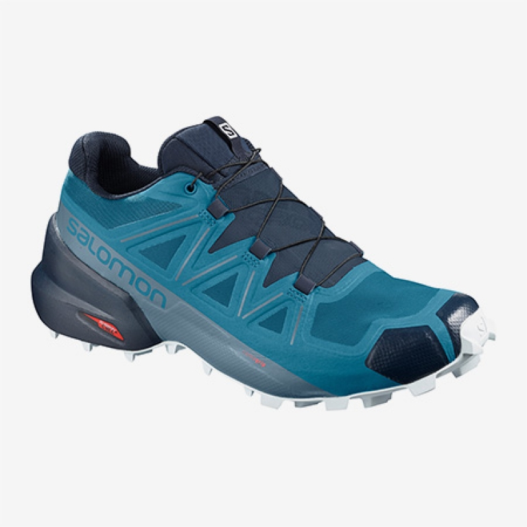Salomon Speedcross 5 Herre Fjord Blue/Navy Blazer/Illusion Blue