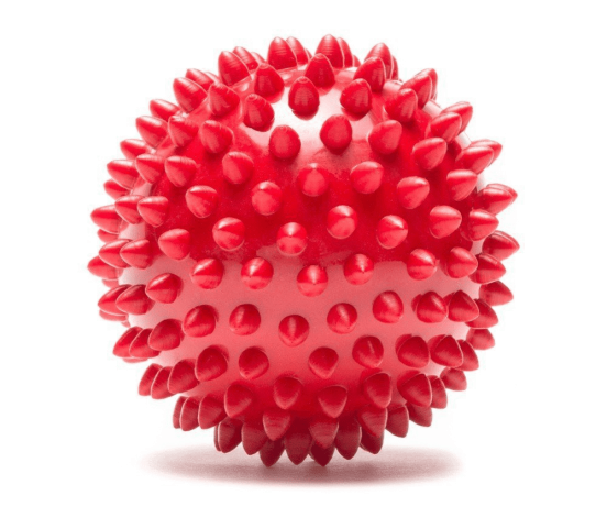 Pro-Tec Spiky Massage Ball Rød