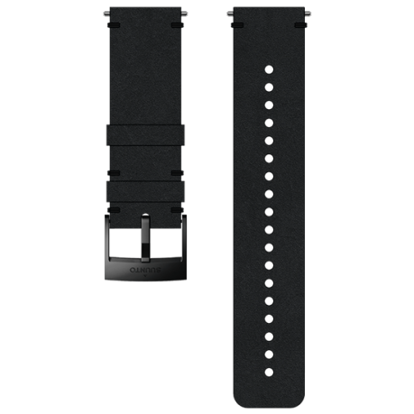 Suunto 24mm Urban 2 Leather Strap - Blac...