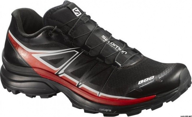 Salomon S-Lab Wings SG Black/Racing Red/...