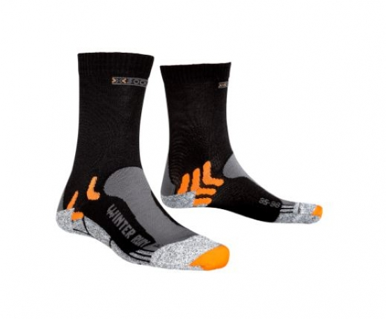 X-Socks Vinter Løbestrømpe - Sort/Orange...