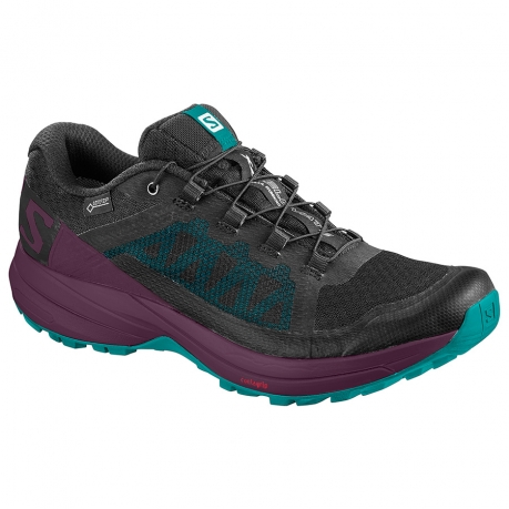 Salomon XA Elevate GTX Dame Black/Purple...